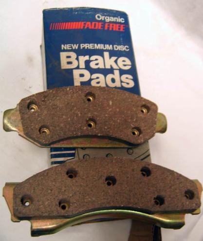 Wsb X Brake Pads on 1990 Dodge Dakota Center Caps